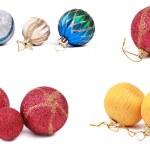 Set of decoration balls — Stock Photo #8038888