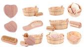 Obiektów spa, łaźnia i sauna — Zdjęcie stockowe
