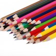 Some colorful pencils — Foto Stock