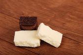 Aerated chocolate — Stock Photo