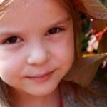 Sweet child's smile — Stock Photo #9411728