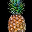 Ripe pineapple with reflection — Stock Photo