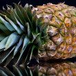 Stock Photo: Ripe pineapple with reflection