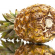 Ripe pineapple with reflection — Stock Photo #10348383