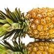 Ripe pineapple with reflection — Stock Photo #10348387