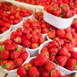 Royalty-Free Stock Photo: Farmers market series - fresh strawberries
