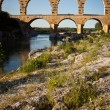 Pont du Gard, Languedoc-Roussillon — Stock Photo