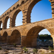 Stock Photo: Pont du Gard, Languedoc-Roussillon