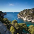 Splendid southern France coast - Stock Photo