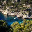 Splendid southern France coast — Stock Photo