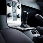 Modern car interior — Stockfoto