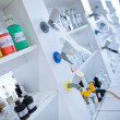 In a chemistry laboratory — Stock Photo #8520918