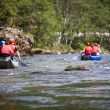 White water rafting - Foto Stock