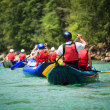 White water rafting - Stock Photo