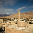 Stunning view of the Nizwa fort (Ad Dakhiliyah, Oman) - Stock Photo