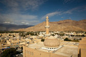 Stunning view of the Nizwa fort (Ad Dakhiliyah, Oman) — Stock Photo
