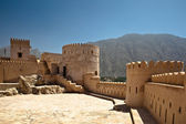 The Nakhl Fort in Al Batinah, Oman — Stock Photo