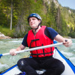 White water rafting — Stock Photo #9388951