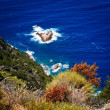 Corsica west coast near Porto (Corsica, France) — Stock Photo