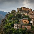 View of Corte, Corsica, France — Stock Photo