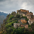 Stock Photo: View of Corte, Corsica, France