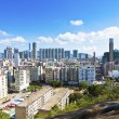 Stock Photo: Hong Kong downtown at peak