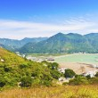 Stock Photo: Tai O landscape from mountains in Hong Kong