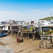 Tai O Fishing Village with Stilt-house - Hong Kong Tourism — Stock Photo