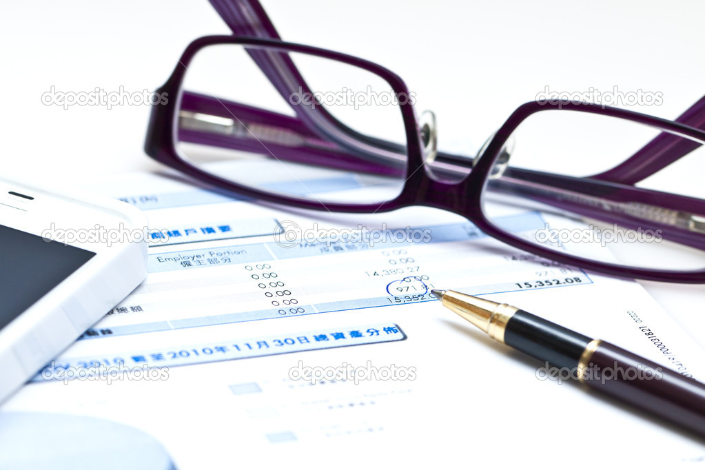 Financial analysis background  Stock Photo #10257632