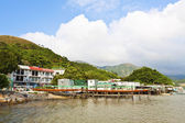 Tai O water village in Hong Kong at day — 图库照片