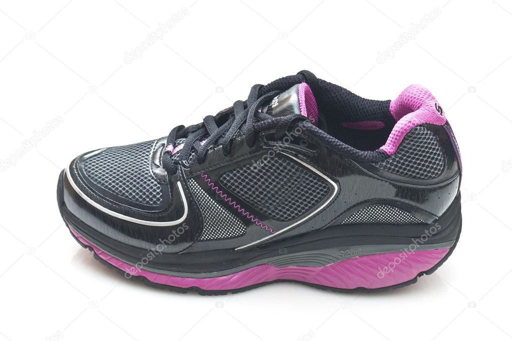 Sports running shoe on white background  Stock Photo #10617234
