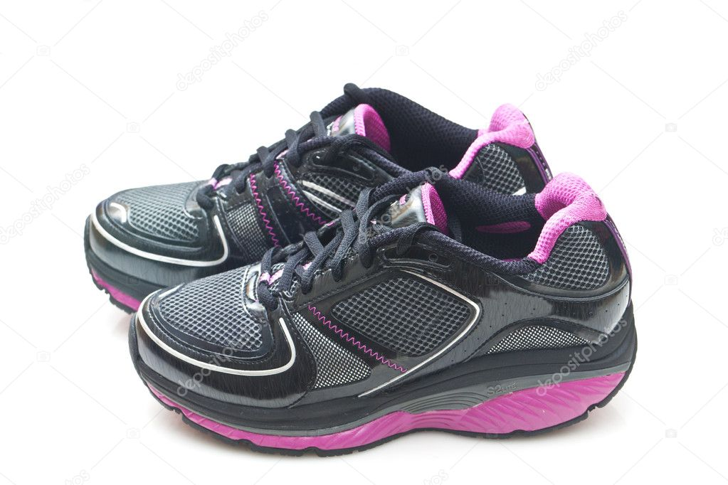 Pair of sports shoes — Stock Photo #10632510