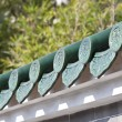 Chinese temple roof — Stock Photo #8068263
