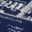Braille for blind - Stockfoto