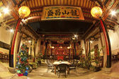 Chinese temple in China, Xiamen. — Stock Photo