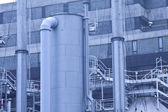 Gas processing plants in Hong Kong — 图库照片