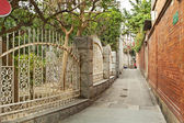 Old alley in Xiamen, China — Stock Photo