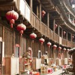 Stockfoto: Interior of Tulou in Fujian, China