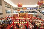 Торговый центр до китайского нового года в Гонконге — Стоковое фото