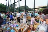 Caritas Fund Raising Bazaar — Stock Photo