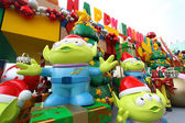 Toy Story Christmas decorations — Stock Photo