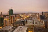 夜明け香港都市景観 — ストック写真