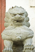 Chinese lion statue — Foto de Stock