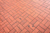 Bricked floor background — 图库照片