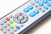 Remote control on white background — Stock Photo