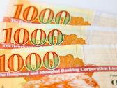 Hong Kong thousands dollar — Stock Photo