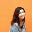 Beautiful and young asian woman — Stock Photo