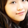 Beautiful and young asian woman portrait — Stock Photo