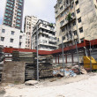 Construction site in Hong Kong — Stock Photo
