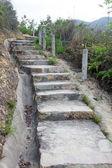 Hiking steps in Hong Kong — Stock Photo
